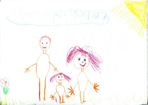 Рисунок №6 – лудыпова саяна 5 лет